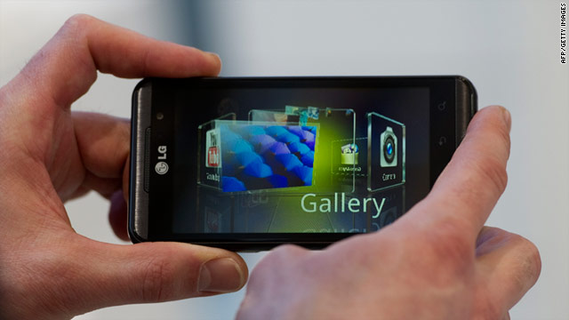 LG's Thrill 4G is one of several smartphones coming out with a focus on 3-D viewing.