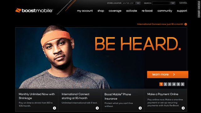 Boost Mobile topped a J.D. Power and Associates customer satisfaction survey about no-contract phones. AT&T scored lowest.
