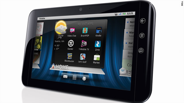 The Dell Streak tablet is one of a growing number of mobile devices running Google's Android operating system.