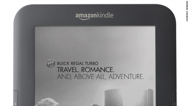 A new Amazon Kindle will be $25 cheaper than before, but it features ads built into the device.