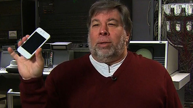 In December, Steve Wozniak showed CNN what appeared to be a white iPhone 4. He later suggested it was a modification.