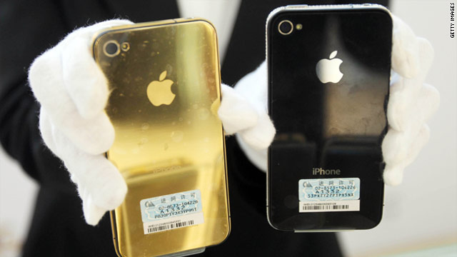 For all we really know, the next gen iPhone could be gold, like this accessory sold in China.