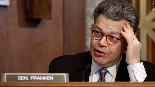 Sen. Al Franken's letter to Steve Jobs says he &quot;would appreciate your prompt response to these questions.&quot;
