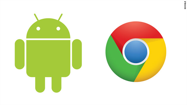 Google executives suggest that the Android and Chrome operating systems could overlap on future devices.