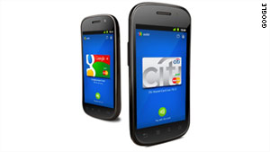 Google Wallet will be available for Sprint customers with newer Android smartphones.
