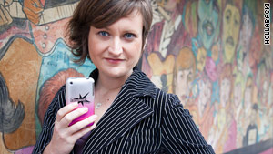 Emily May, co-founder and executive director of Hollaback.