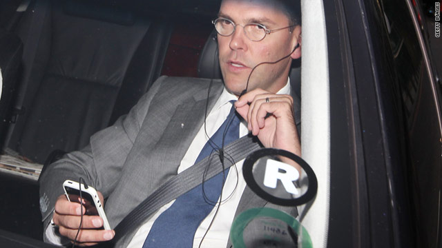 News Corp.'s James Murdoch announced the closing of the tabloid News of the World after a phone-hacking scandal.