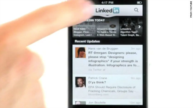 LinkedIn released an updated version of its app for Android and iOS on Tuesday.