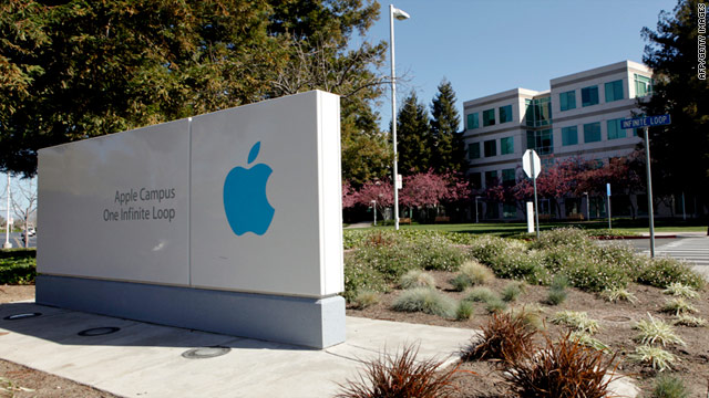Apple investigators searched a man's home who they believed to have a lost device, police said.