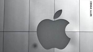 Two Apple investigators searched a man's home while four police officers waited outside.