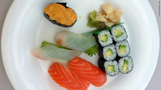 Un plato de sushi podría revelar el misterio del iPhone 5