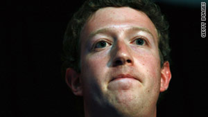 Facebook CEO Mark Zuckerberg's public page on his website was hacked this week.