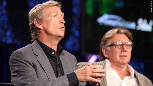 """American Idol"" executive producer Nigel Lythgoe, left, had said the show would add online voting."