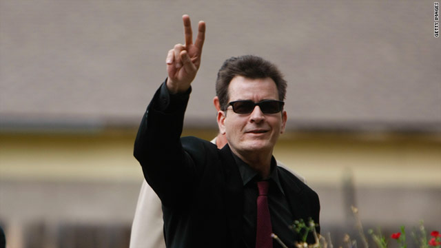 "Charlie Sheen has set a Guinness World Record for ""Fastest Time to Reach 1 Million Followers"" on Twitter."