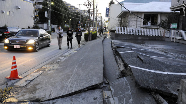 An earthquake with a magnitude of 8.9 hit Japan today, resulting in tsunami warnings for 20 countries.