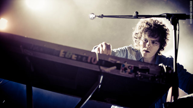 David Perlick-Molinari of the band French Horn Rebellion. We asked 10 SXSW musicians and bands for social media advice.