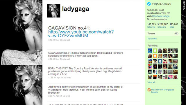 Right now Lady Gaga has over 9.2 million Twitter followers -- but there are other ways to measure influence on the site.