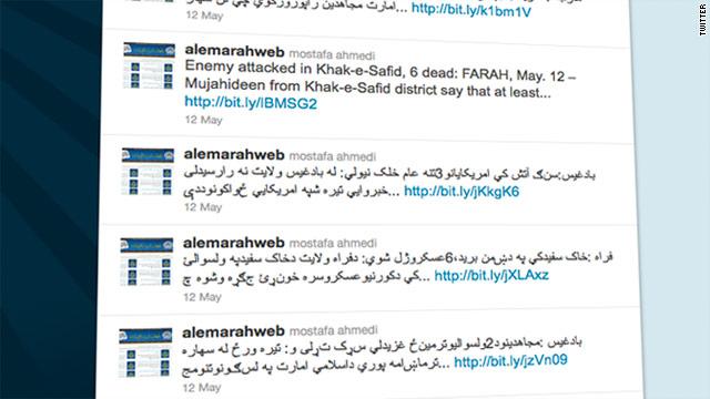 """Los talibanes ganan """"adeptos"""" gracias a Twitter"""