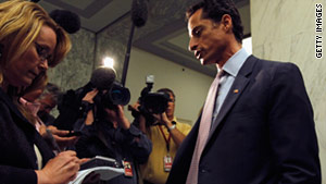 "Rep. Anthony Weiner says his Twitter account was hacked, but can't say ""with certitude"" if the picture is a fake."