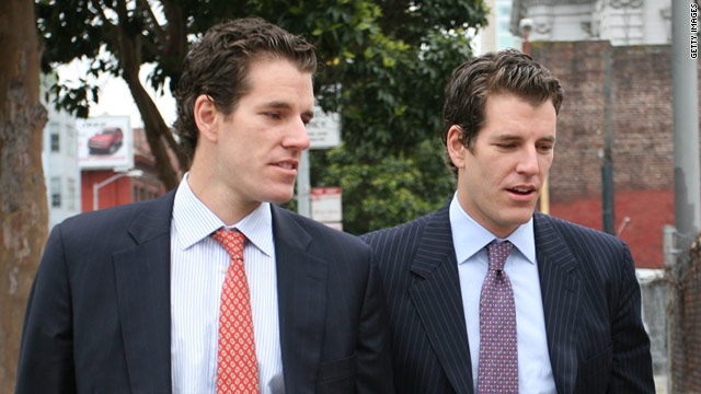 Los gemelos Winklevoss le apuestan a la inversin en bitcoins