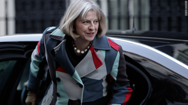 British Home Secretary Theresa May will meet with social media experts to discuss people social networking during a crisis.
