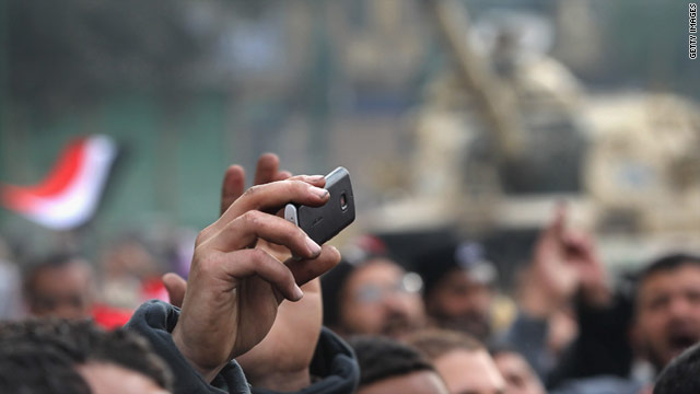 Online social networks and other digital tools are often credited with helping Egyptian protestors topple the government.