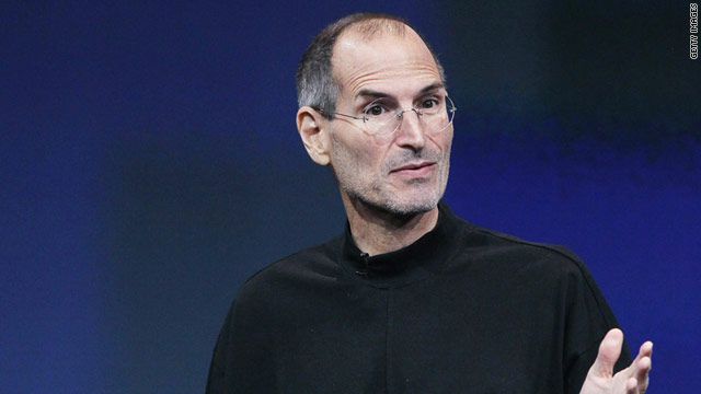 Apple announced a medical leave for CEO Steve Jobs on a national holiday.