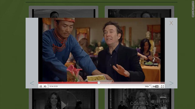 Actor Timothy Hutton appears in Groupon's Super Bowl ad, which raised the ire of Tibet advocates.