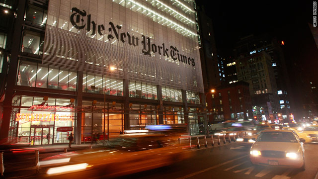 The New York Times will introduce a digital subscription model on Monday.
