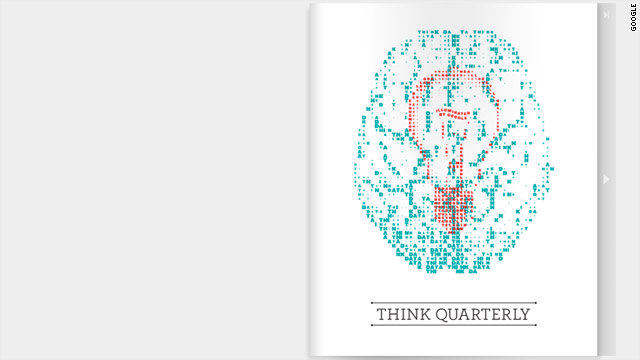 Many of Think Quarterly's articles feature interviews with Google executives and technology leaders.