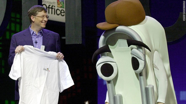 Bill Gates retired &quot;Clippy&quot; as a default feature of Microsoft Office in 2001. The company is bringing the character back in a game.