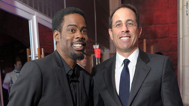 Chris Rock and Jerry Seinfeld are two of the comedians now available on Pandora, according to The New York Times.
