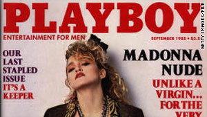 This 1985 issue featured nude photos of Madonna, taken years earlier before she became famous.
