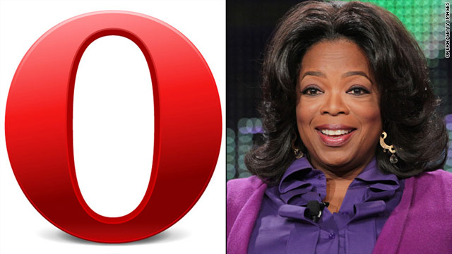 Opera or Oprah? Some people have been confusing the company that makes Web browsers with the retiring talk show queen.