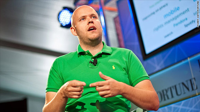 Spotify founder Daniel Ek speaks Thursday at Fortune Brainstorm Tech in Aspen, Colorado.
