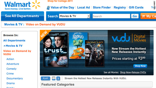 With some Netflix customers miffed, Walmart, the world's biggest retailer, sees potential in streaming video on its website.