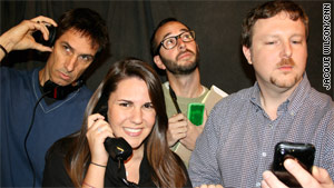 Tech Check: Doug Gross, Brandon Griggs and Stephanie Goldberg discuss iPhones, the Nintendo 3DS -- and goats.