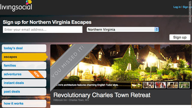 The Hillbrook Inn in West Virginia listed a one-night stay on LivingSocial in March and were flooded with new business.