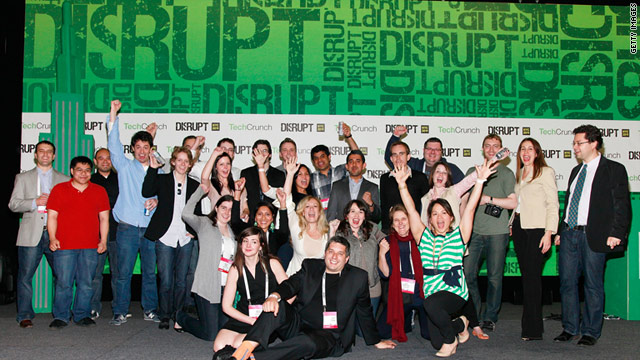 TechCrunch is one of the Internet's most popular tech blogs. Its staff holds an annual event in New York called TechCrunch Disrupt.