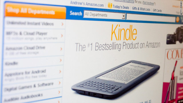 A Netflix-style book service by Amazon would provide content for users of the online seller's Kindle e-reader.