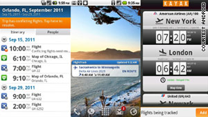 Five top air travel apps