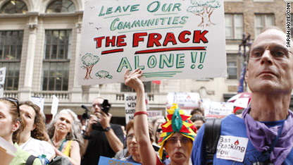 Protesters: Jobs not worth 'fracking' cost