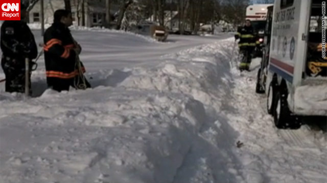 Man chronicles firefighters&#039; 67-hour shift digging out N.J. township