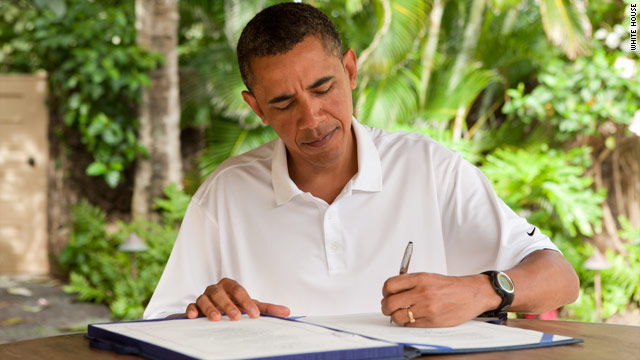 9/11 health bill flown to Hawaii for Obama to sign