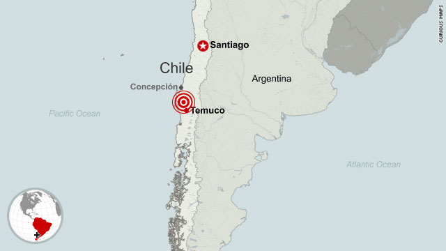 7.1-magnitude earthquake hits Chile