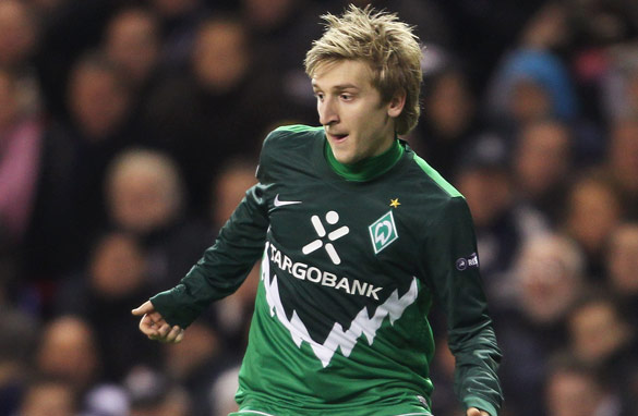 Will promising German Marko Marin follow the likes of Mesut Ozil and move onto a bigger stage? (Bongarts/Getty Images)