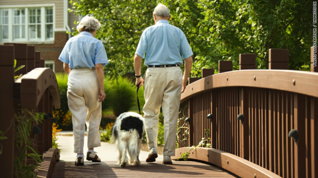 Walking speed may predict survival in seniors