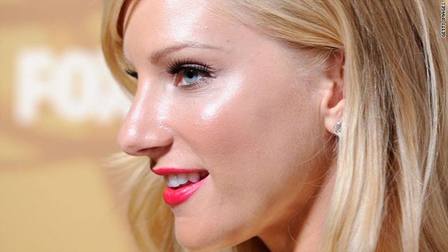 High school pain for 'Glee' star Heather Morris