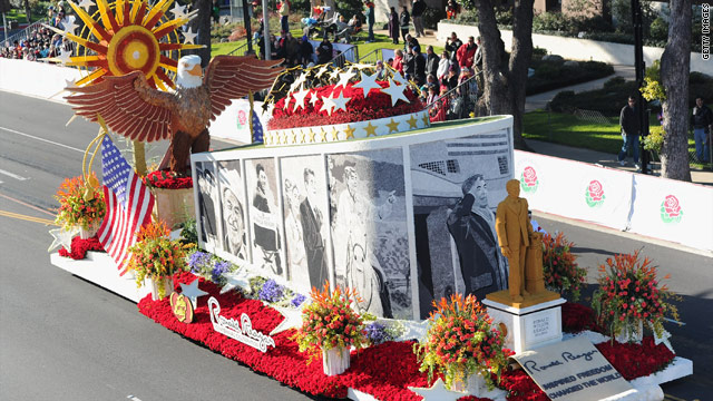 Reagan float wins award