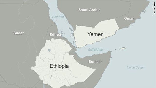 Coast Guard: More than 80 feared dead after boats capsize off Yemen coast